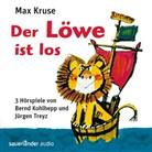 Bernd Kohlhepp, Max Kruse, Jürgen Treyz, Carmen-Maja Antoni, Bernd Kohlhepp, Krischan Walterspiel - Der Löwe ist los. Der Löwe in Seenot. Der Löwe in Sultanien, 3 Audio-CDs (Hörbuch)