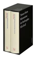 Thomas Mann, Bussman, Bussmann, Monica Bussmann, Monika Bussmann, Heinrich Detering... - Werke - Briefe - Tagebücher. GKFA - 12: Bekenntnisse des Hochstaplers Felix Krull, m. Kommentar, 2 Bde.