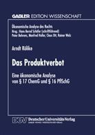 Arndt Rölike - Das Produktverbot