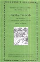 Petrus de Crescentiis, Petrus Petrus de Crescentiis (Pier de' Crescenzi), Will Richter - Ruralia commoda - Teil 4: Ruralia commoda (Tl.4), Indices