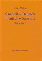 Klaus Mylius - Sanskrit-Deutsch / Deutsch-Sanskrit