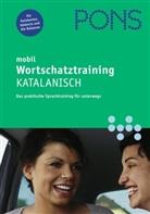 PONS mobil Wortschatztraining Katalanisch, 1 Audio-CD (Hörbuch)