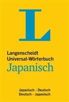 Redaktio Langenscheidt, Redaktion Langenscheidt - Langenscheidt Universal-Wörterbuch Japanisch