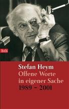 Stefan Heym - Offene Worte in eigener Sache 1989-2001