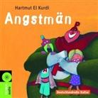 Hartmut El Kurdi, Hartmut el Kurdi, Tom Quaas, Lars Rudolph, Tabea Sitte - Angstmän, 1 Audio-CD (Hörbuch)