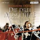 Alexandre Dumas, Andreas Fröhlich, Ulrich Pleitgen, Jens Wawrczeck, Samuel Weiss, Thomas Wenke - Die drei Musketiere, 2 Audio-CDs (Hörbuch)