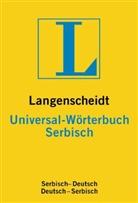 Langenscheidt Universal-Wörterbuch Serbisch