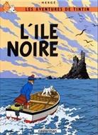 Herge, Hergé - Les Aventures de Tintin - Pt.7: Les aventures de Tintin. Volume 7, L'île noire