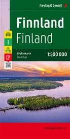 Freytag-Berndt und Artaria KG, Freytag-Bernd und Artaria KG - Freytag Berndt Autokarte: Freytag & Berndt Autokarte Finnland. Suomi. Finland. Finlande. Finlandia