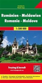 Freytag-Berndt und Artaria KG, Freytag-Bernd und Artaria KG - Freytag Berndt Autokarte: Freytag & Berndt Autokarte Rumänien, Moldawien. Romania, Moldova