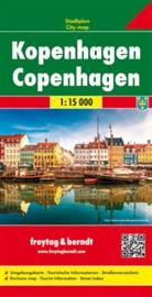 Freytag-Berndt und Artaria KG - Freytag Berndt Stadtplan: Freytag & Berndt Stadtplan Kopenhagen. Copenhagen; Copenaghen. Koebenhavn; Copenhague