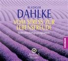 Rüdiger Dahlke - Vom Stress zur Lebensfreude, 1 Audio-CD (Hörbuch)