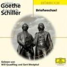 Friedrich Schiller, Friedrich von Schiller, Johann Wolfgang Von Goethe, Will Quadflieg, Gert Westphal - Briefwechsel. 2 CDs (Hörbuch)