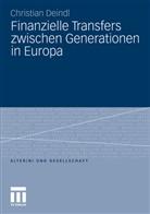 Christian Deindl - Finanzielle Transfers zwischen Generationen in Europa