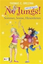 Thomas Brezina, Thomas C Brezina, Thomas C. Brezina - No Jungs!, Sammelbände: No Jungs! - Sommer, Sonne, Hexenferien
