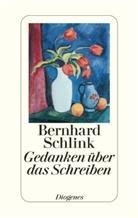 Bernhard Schlink - Gedanken über das Schreiben