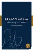 Stefan Zweig - Verwirrung der Gefühle und andere Erzählungen
