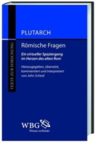Plutarch, Plutrach, Plutrach, Joh Scheid, John Scheid - Römische Fragen