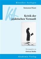 Immanuel Kant, Otfrie Höffe, Otfried Höffe - Immanuel Kant, Kritik der praktischen Vernunft