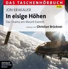 Jon Krakauer, Christian Brückner, Christian Sprecher: Brückner - In eisige Höhen, 9 Audio-CDs (Hörbuch)