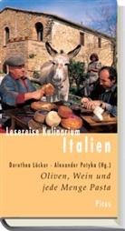 Löcke, Löcker, Dorothe Löcker, Dorothea Löcker, Potyk, Potyka... - Lesereise Kulinarium Italien