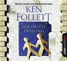 Ken Follett, Mareike Carrière, Jörg Schüttauf - Der dritte Zwilling, 4 Audio-CDs (Hörbuch)