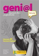 Hermann Funk, Michael Koenig, Theo Scherling - geni@l klick - Bd.A1: Genial Klick A1 Glossar Englisch