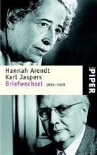 Hannah Arendt, Karl Jaspers - Briefwechsel 1926-1969