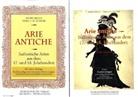 """Dario Becci, Vera Scherr, Vera U. G. Scherr - Arie Antiche, Gesang und Klavier, m. Beilage """"Studienvorlalgen"""""""