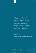 Heinrich W. Guggenheimer, Heinric W Guggenheimer - The Jerusalem Talmud: Nasim: Tractate Ketubot. 6.Order