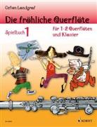 Gefion Landgraf, Andreas Schürmann - Die fröhliche Querflöte, Spielbuch für 1-2 Querflöten u. Klavier. Bd.1