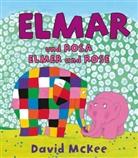 David McKee - Elmar und Rosa, Deutsch-Englisch. Elmer and Rose