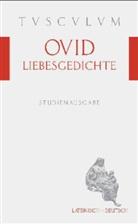 Ovid, Publius Ovidius Naso, Nikla Holzberg, Niklas Holzberg - Liebesgedichte. Amores