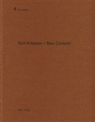 Beat Consoni, Gerhard Mack, Michael Egloff, Heinz Wirz - Fünf Arbeiten - Beat Consoni