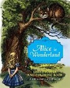Lewis Carroll, John Tenniel, Sir John Tenniel, John Tenniel - Alice in Wonderland Giant Poster and Coloring Book