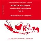 Bern Nothofer, Bernd Nothofer, Karl-Heinz Pampus - Bahasa Indonesia - 1: 7 Audio-CDs zum Lehrbuch (Hörbuch)