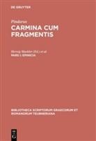 Pindar, Pindarus, Pindarus, Herwi Maehler, Herwig Maehler, Snell... - Carmina cum fragmentis - 1: Epinicia