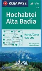 KOMPASS-Karte GmbH, KOMPASS-Karten GmbH - Kompass Karten: KOMPASS Wanderkarte Hochabtei, Alta Badia
