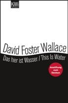 David Foster Wallace, David Foster Wallace, Ulrich Blumenbach - Das hier ist Wasser. This is water