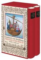 von Strassburg Gottfried, Gottfried von Strassburg, Gottfried von Straßburg, Günter Scholz, Walte Haug, Walter Haug... - Tristan und Isold, 2 Bde
