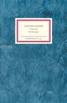 Johann Wolfgang Von Goethe, Mathia Mayer, Mathias Mayer - Goethes Monde
