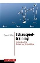 Stephan Richter - Schauspieltraining