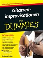 Antoine Polin - Gitarrenimprovisationen für Dummies, m. Audio-CD