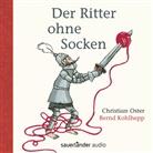 Lewis Carroll, Christian Oster, Katja Gehrmann, Bernd Kohlhepp - Der Ritter ohne Socken, 1 Audio-CD (Hörbuch)