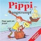 Astrid Lindgren, Heidi Abel - Pippi Langstrumpf 02. Pippi gaht ufs Schiff (Hörbuch)