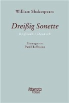 William Shakespeare, Paul Übertragen von Hoffmann, Paul Hoffmann - Dreißig Sonette
