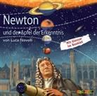 Luca Novelli, Peter Kaempfe, Jürgen Uter - Newton und der Apfel der Erkenntnis, 1 Audio-CD (Hörbuch)
