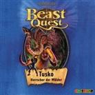Adam Blade, Dietmar Mues, Jona Mues, Jona Muess - Beast Quest, Audio-CDs - Bd.17: Beast Quest - Tusko, Herrscher der Wälder, 1 Audio-CD (Hörbuch)