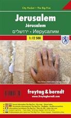 Freytag-Berndt und Artaria KG, Freytag-Bernd und Artaria KG - Freytag Berndt Stadtplan: Freytag & Berndt Stadtplan Jerusalem
