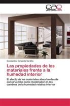 Constantino Carpente Sardiña - Las propiedades de los materiales frente a la humedad interior